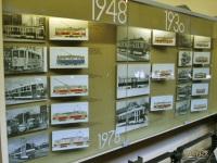 Прага. Стенд, посвященный истории трамвая в Народном техническом музее