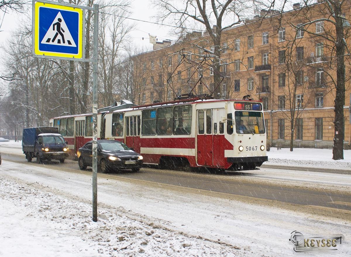 Санкт-Петербург. ЛВС-86К №5067
