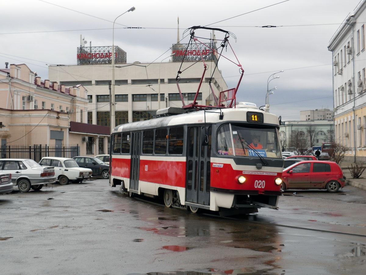 Краснодар. Tatra T3SU №020