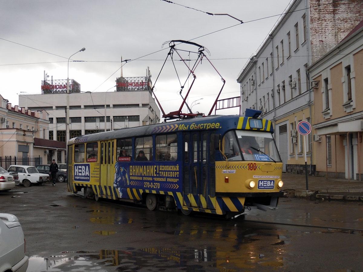 Краснодар. Tatra T3SU №100