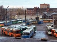 Петрозаводск. ЛиАЗ-5280 №345, ВЗТМ-5284 №326, ЗиУ-682В-012 (ЗиУ-682В0А) №254, ВЗТМ-5284 №333