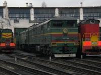 Краснодар. ЧМЭ3-2947, ЧМЭ3-6143, 2ТЭ10МК-2595
