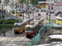 Москва. Tatra T3 (МТТЧ) №3435, Tatra T3 (МТТЧ) №3431, Tatra T3 №3798, Tatra T3SU №3774