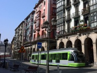 Бильбао. CAF Streetcar №405