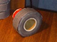 Колесо со вставленной заготовкой диска