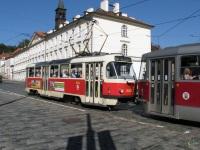 Прага. Tatra T3R.PLF №8257, Tatra T3 №8323