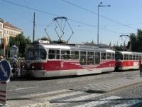 Прага. Tatra T3R.PLF №8266, Tatra T3R.PV №8158