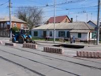 Таганрог. Авария на канализационном коллекторе по улице Дзержинского