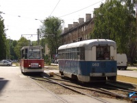 Даугавпилс. РВЗ-6М2 №065, 71-605А (КТМ-5А) №112