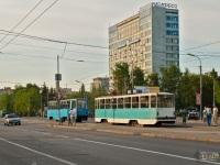Казань. 71-402 №2203, 71-608КМ (КТМ-8М) №2381