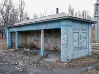 Одесса. Остановочный павильон Бельгийского трамвайного общества около завода Большевик