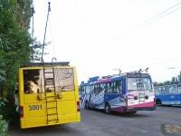 Николаев. ЛАЗ-52522 №3160, ЛАЗ-Е183 №3001, ЗиУ-682Г00 №3150