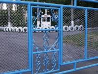 Николаев. Ворота троллейбусного депо, Херсонское шоссе