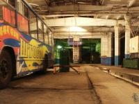Николаев. Троллейбусное депо, общий вид