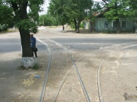 Николаев. Разворотное кольцо 11-го маршрута на улице Сивашской дивизии