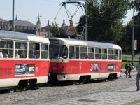 Прага. Tatra T3 №8394, Tatra T3 №8395