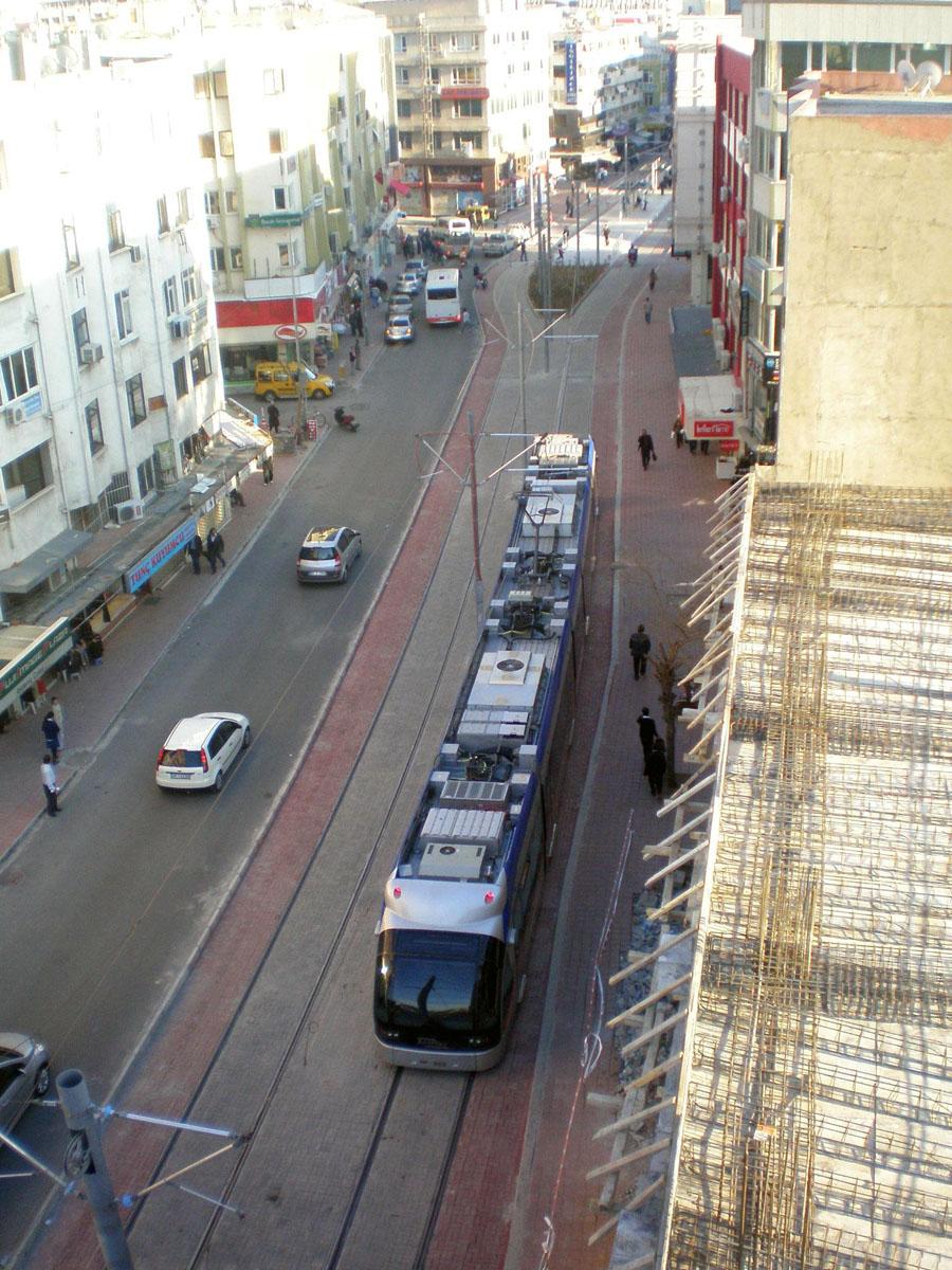 Анталья. CAF Streetcar №002