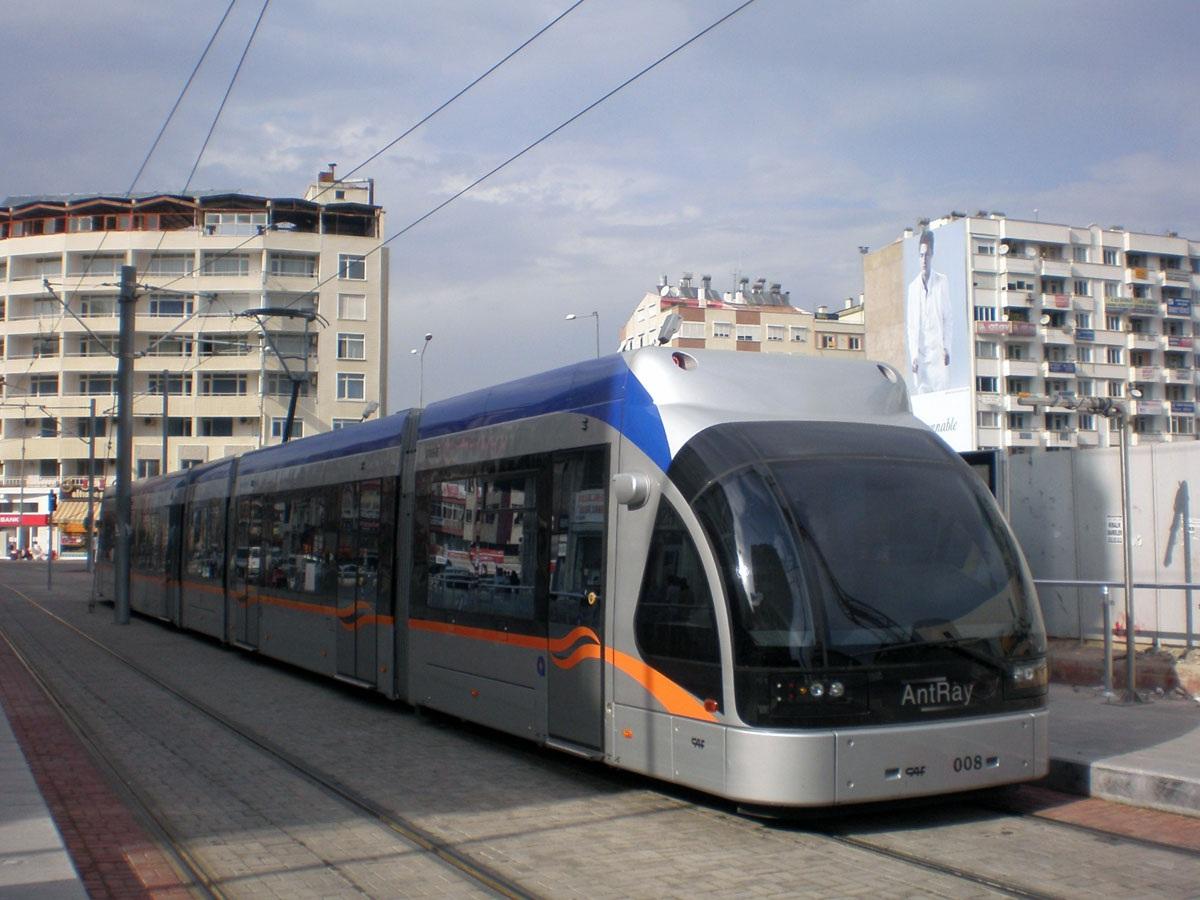 Анталья. CAF Streetcar №008