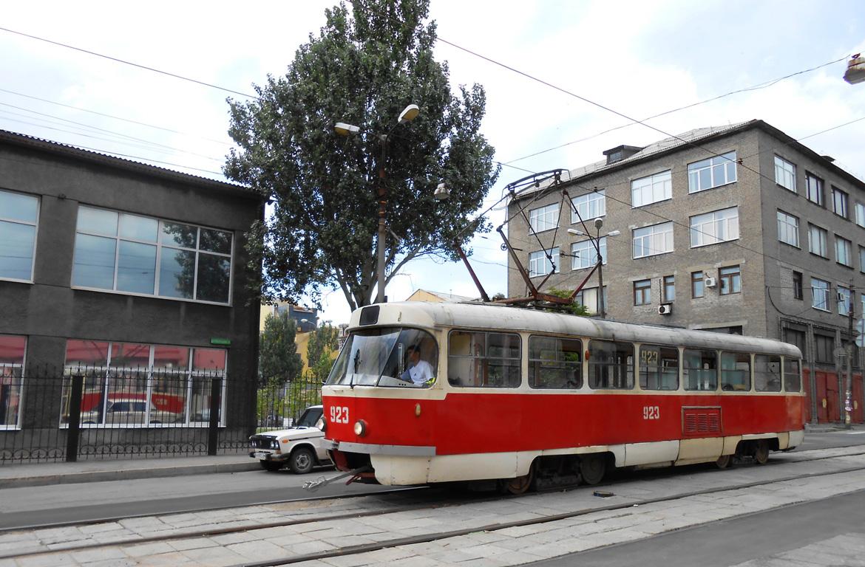 Донецк. Tatra T3 №923