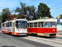 Донецк. К1 №3022, Tatra T3SU №3955