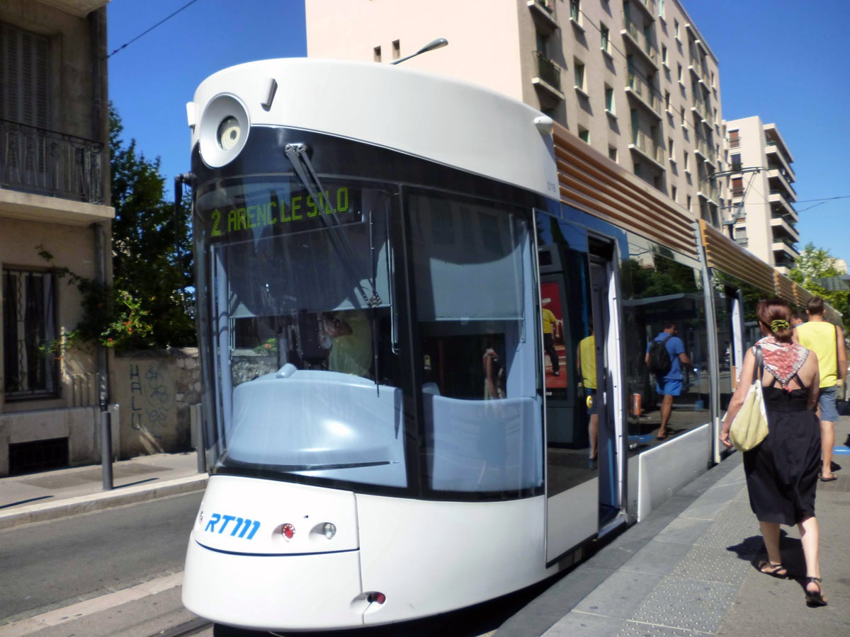 Марсель. Bombardier Flexity Outlook №018