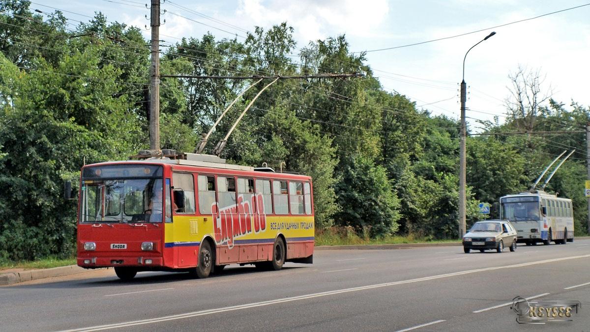 Великий Новгород. Škoda 14Tr №20
