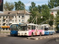 Великий Новгород. ЗиУ-682 КР Иваново №8, ЗиУ-682 КР Иваново №38, Škoda 14Tr №22