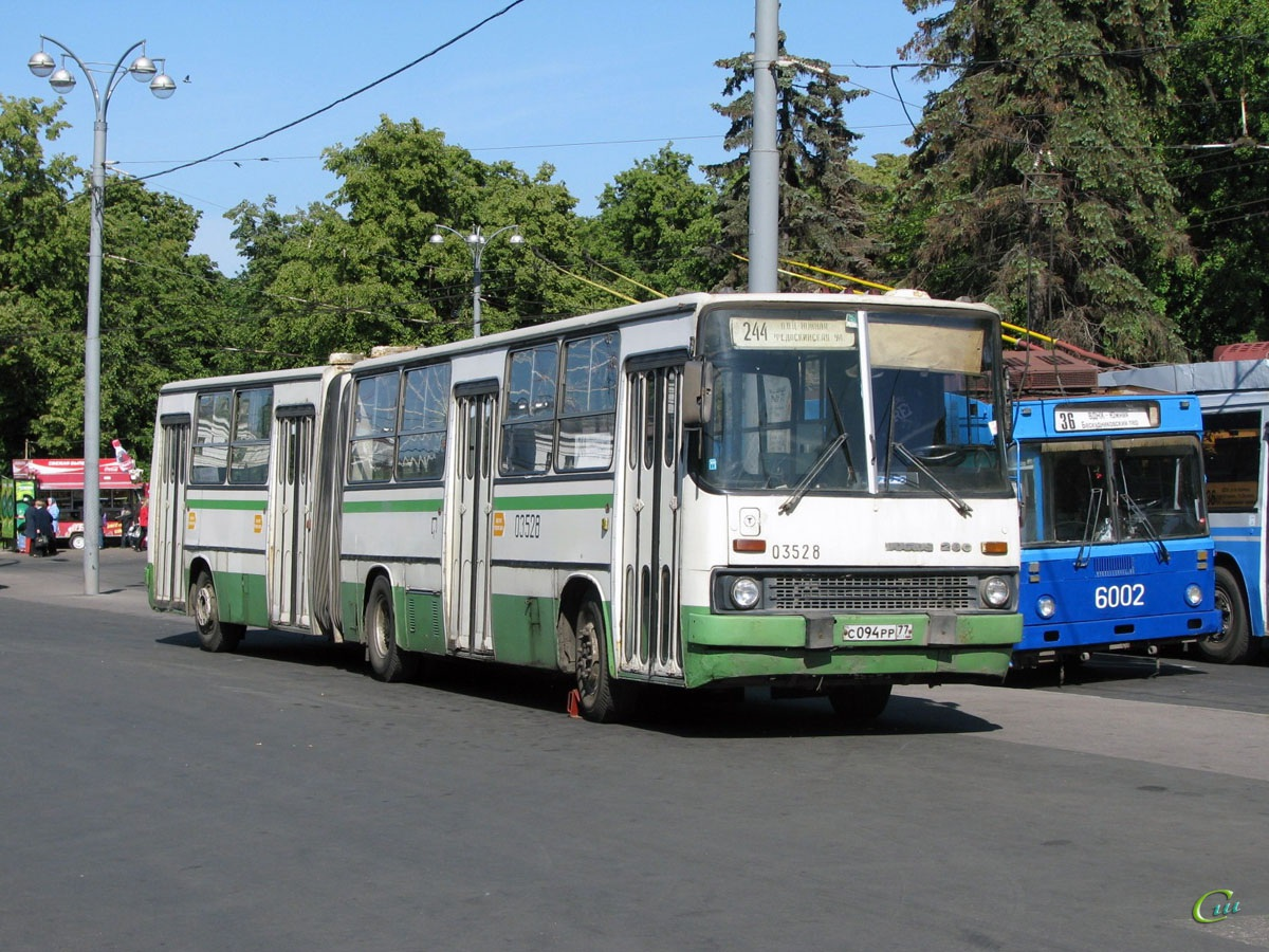 Москва. МТрЗ-6223 №6002, Ikarus 280.33 с094рр