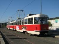 Прага. Tatra T3 №8098, Tatra T3 №8021