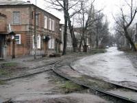 Новочеркасск. Разворотный треугольник, конечная станция Улица Генерала Лебедя