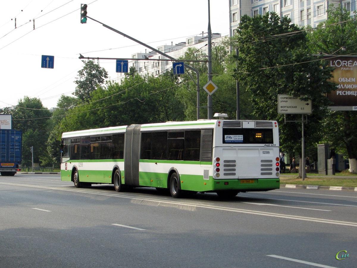 Москва. ЛиАЗ-6213.20 ев068