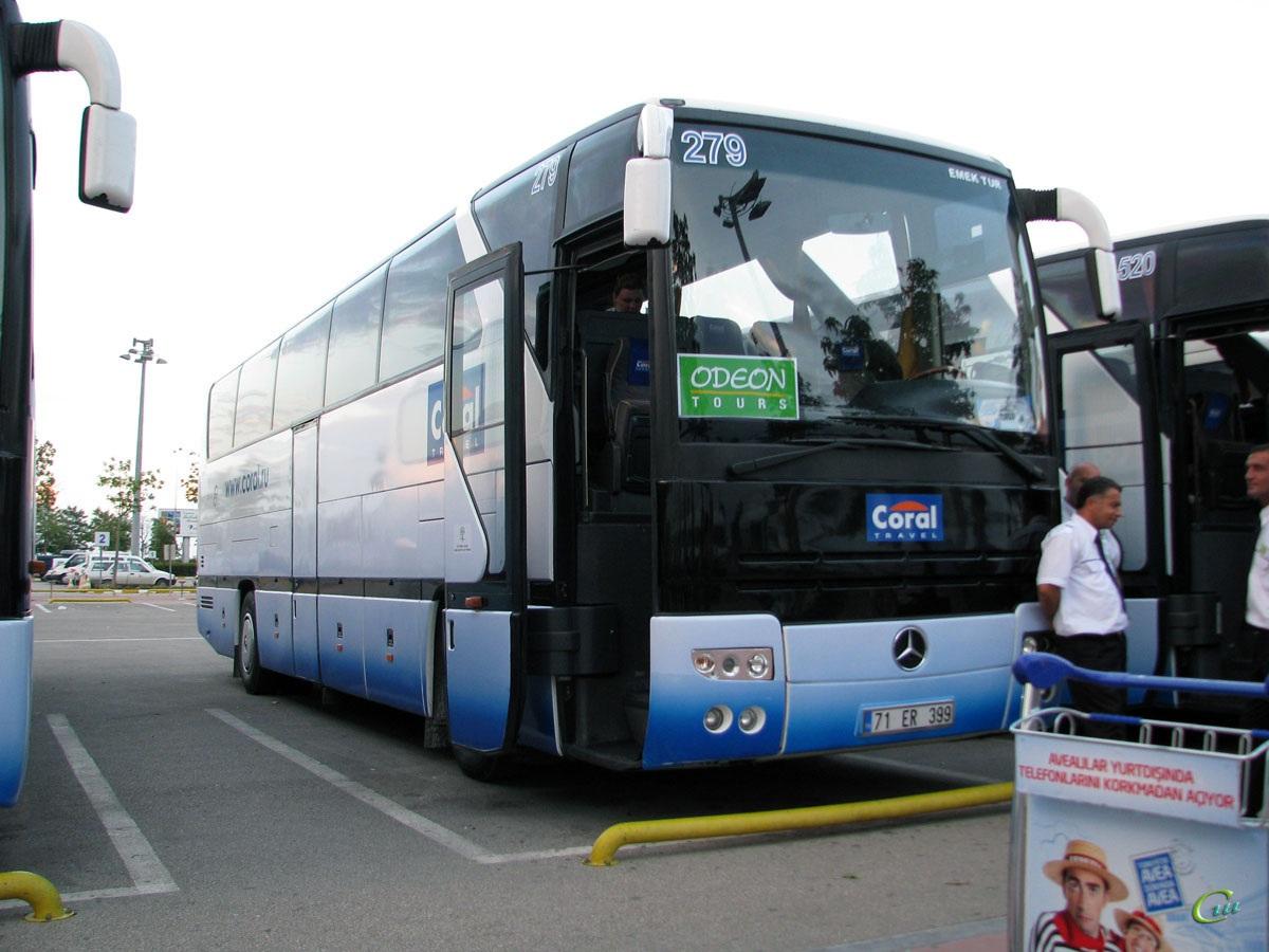 Анталья. Mercedes-Benz O403SHD 71 ER 399