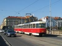 Прага. Tatra T3 №8424, Tatra T3 №8454