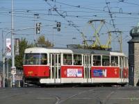 Прага. Tatra T3 №8497