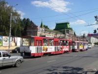 Тула. Tatra T3SU №73, Tatra T6B5 (Tatra T3M) №334