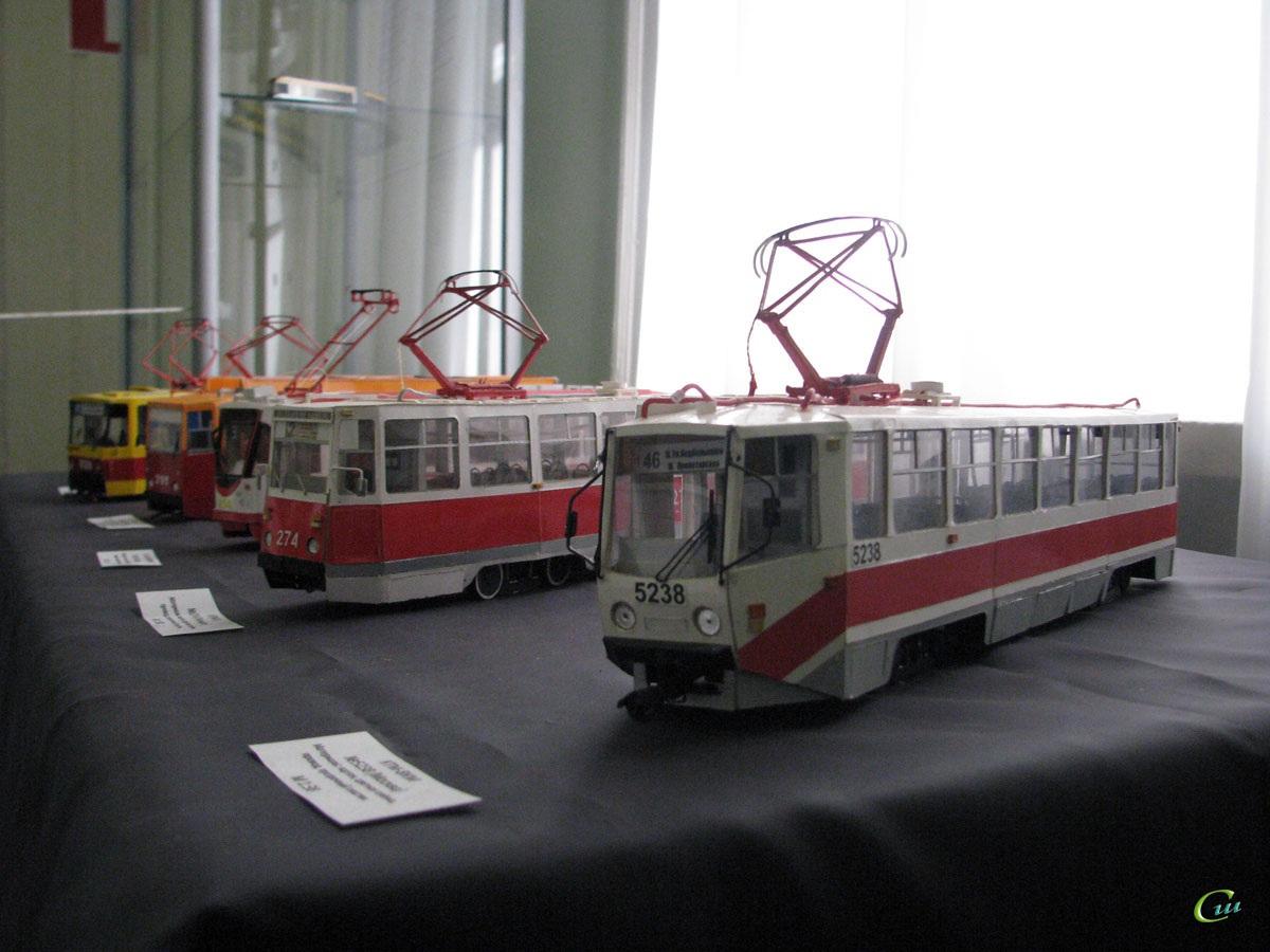 Таганрог. 71-605 (КТМ-5) №274, 71-608КМ (КТМ-8М) №5238