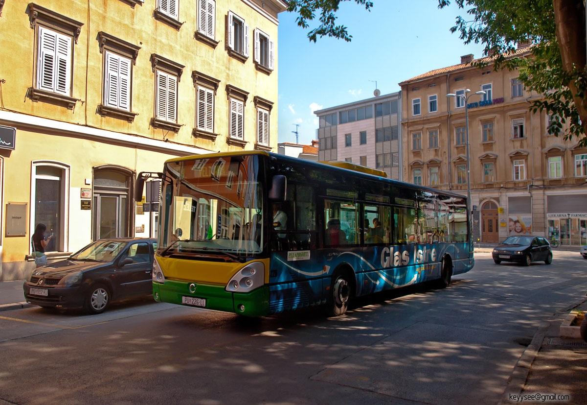 Пула. Irisbus Citelis 12M PU 226-LL