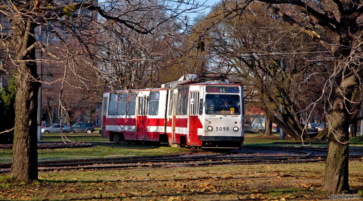 Санкт-Петербург. ЛВС-86К №5098