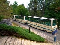 Ровинь. Прицепы к Mercedes-Benz Unimog U400, внутренний маршрут парка-заповедника Плитвицкие озера (Plitvicka jezera)