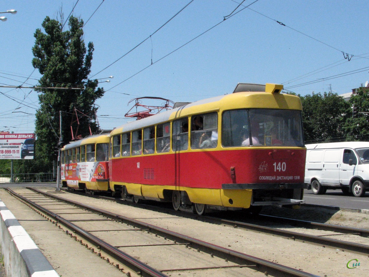 Краснодар. Tatra T3SU №041, Tatra T3SU №140