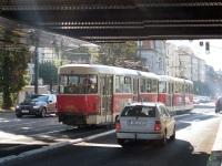 Прага. Tatra T3 №8495, Tatra T3 №8444