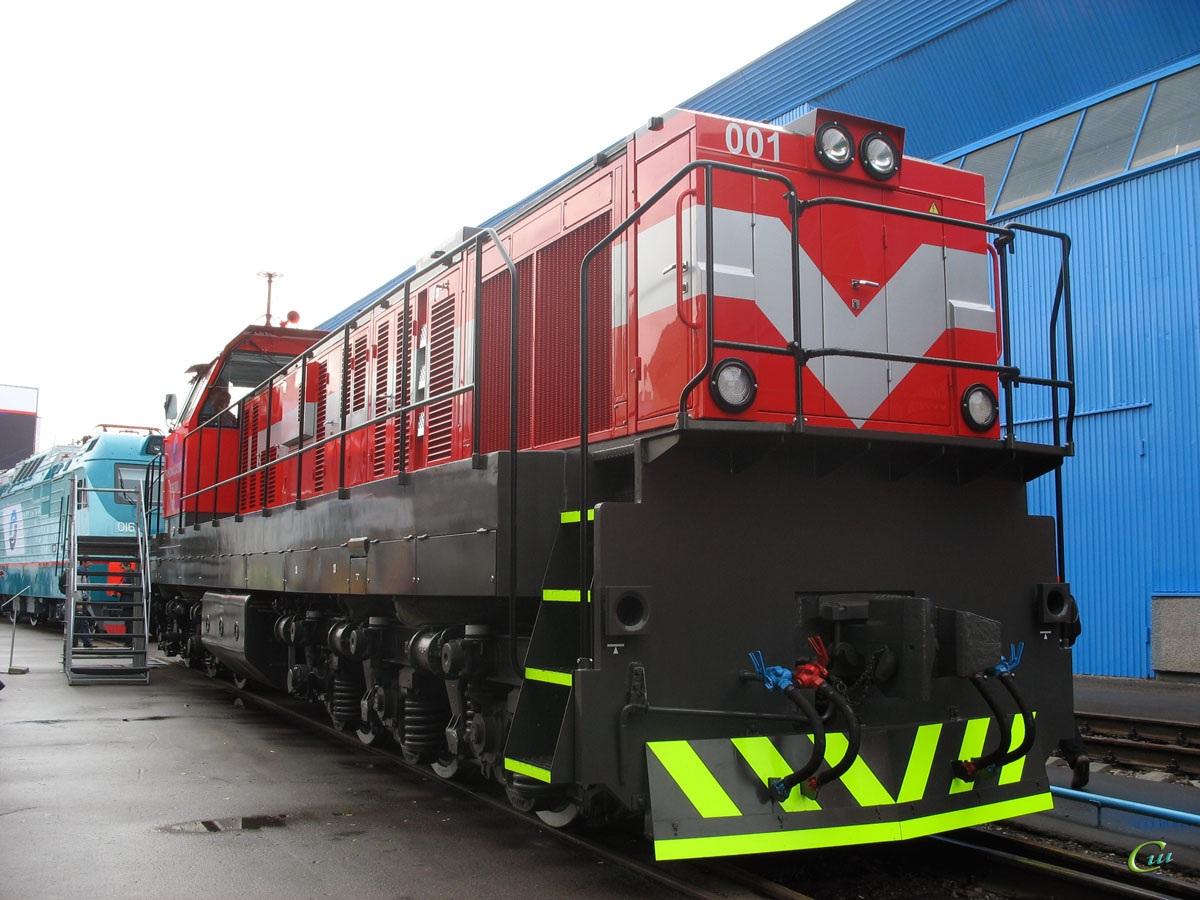 Москва. ТЭМ-ТМХ-001