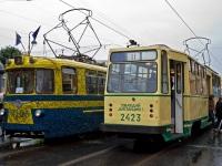 Санкт-Петербург. ЛМ-57 №5148, ЛМ-68М №2423