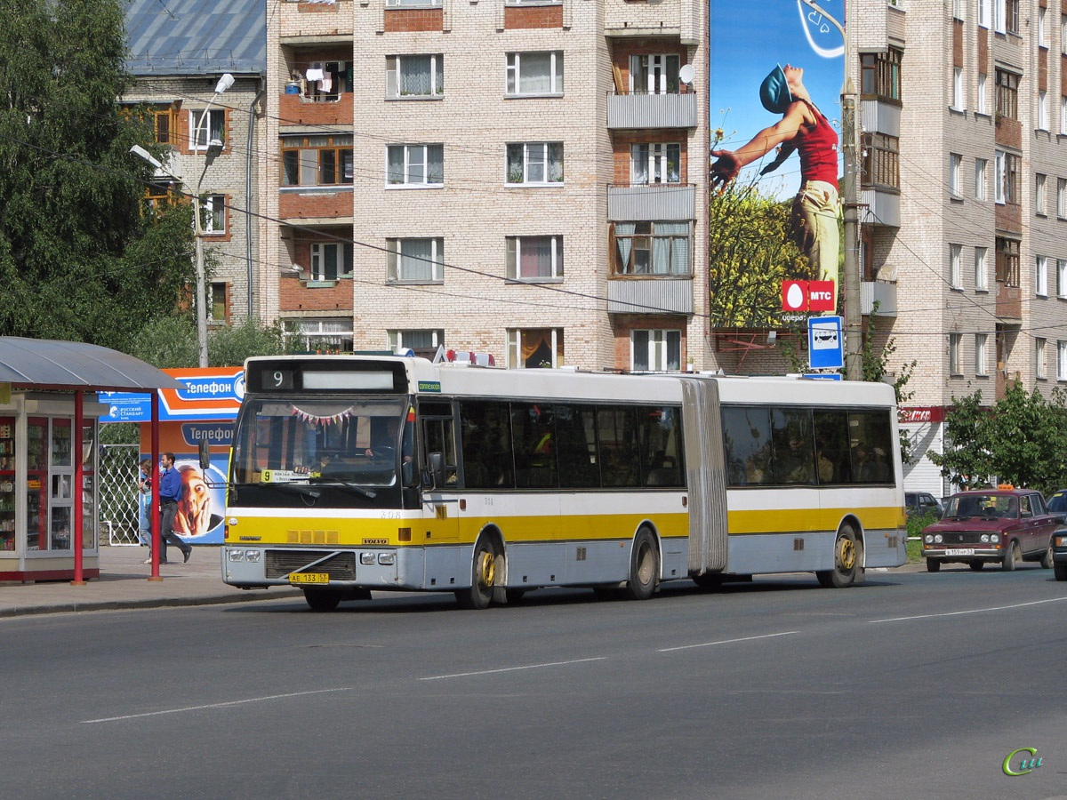 Великий Новгород. Berkhof Europa 2000A Duvedec ае133