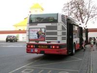 Прага. Renault Agora S/Karosa Citybus 12M AKA 70-22