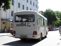 Таганрог. Hyundai County SWB ка494