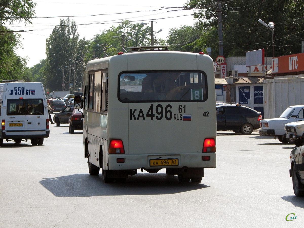 Таганрог. Hyundai County SWB ка496