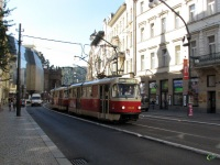 Прага. Tatra T3 №8536, Tatra T3 №8537