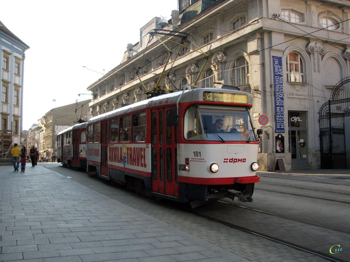 Оломоуц. Tatra T3 №181