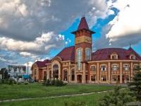 Ужгород. Ужгородский железнодорожный вокзал (Залiзничний вокзал Ужгород)